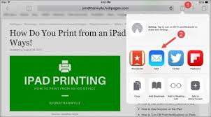 How Do You Print From An Ipad Let Me Count The Ways