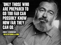 Hemingway Quotes Impressive 48 Wise Honest Ernest Hemingway Quotes Wealthy Gorilla