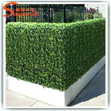 faux ivy wall artificial ivy wall plastic artificial green leaf fence made of artificial ivy fence