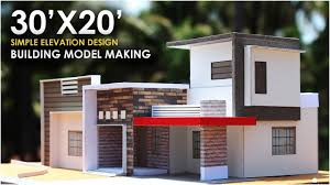 Simple Building Design Pictures 30x20 Small Residential Building 1bhk North East Facing