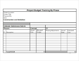 Excel Templates For Budgeting Project Budget Template Project Budget Tracking Excel Template