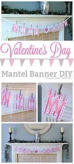 diy valentine s day banner