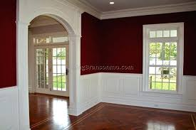 painting dining room with chair rail ideas chair rail molding dining room dining room chair rail