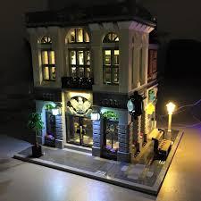 lego lighting. LED Lighting Kit For LEGO® 10251 Brick Bank Lego \