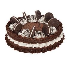 fudge brownie n oreo cookie cake