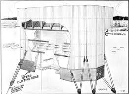 architectural drawings of bridges. Caisson Cross-section Drawing, 1939 WSDOT Architectural Drawings Of Bridges E