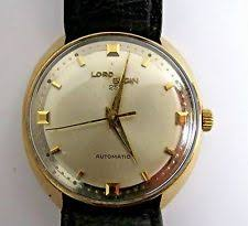 lord elgin watch vintage mens swiss lord elgin 25 j automatic wrist watch gold filled beezel run