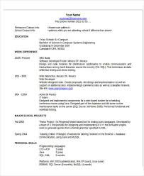 Contact Information On A Resume Project Manager Resume 2018 Example