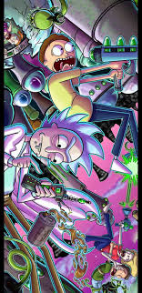 Related wallpaper for wallpaper rick and morty iphone. Rick And Morty Phone Wallpapers On Wallpaperdog