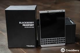BlackBerry Passport Silver Edition ...