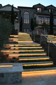 outdoor stair lighting lounge. Small Flat Led Lights With Mediterranean Landscape And Exterior Stone Limestone Natural Outdoor Lighting Step Stair Lounge L