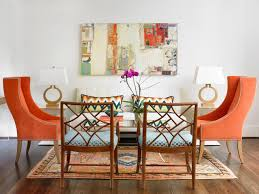 Orange Living Room Chair 10 Tips For Picking Paint Colors Hgtv