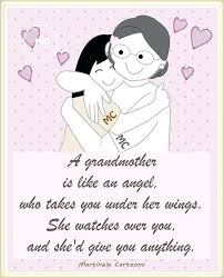 I Love You Grandma Quotes Unique Love For A Grandmother Quotes And A Grandmother Is Like An Angel Who
