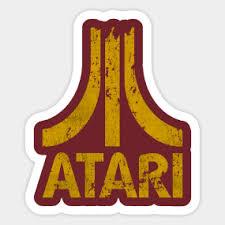 Main Tag Atari Sticker