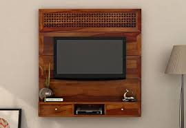 Small Picture TV Units Buy Wooden TV Unit Online Tv Stand Cabinet
