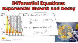 diffeial equations exponential growth and decay