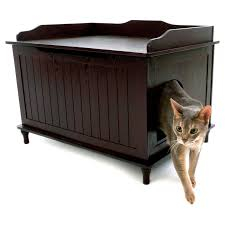 Designer Catbox Hidden Litter Box Enclosure Furniture - Free Shipping Today  - Overstock.com - 15055558