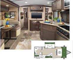 Travel trailers interior Scamp Surveyor Travel Trailers By Forest River Are Engineered To Provide Owners With Superior Craftsmanship And Unmatched Value Lightweight Floor Plans And Rv Lifestyle Magazine Ten Top Travel Trailers Rv Lifestyle Magazine