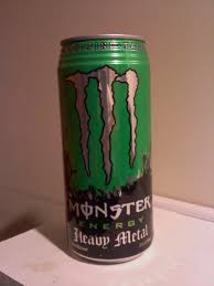 monster energy can green. Fine Can Review For Monster EnergyHeavy Metal With Energy Can Green N