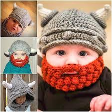 Beard Hat Crochet Pattern Enchanting Crochet Viking Hat With Beard Free Pattern Video Tutorial