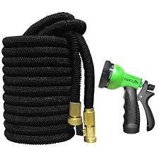 thefitlife expandable garden hose 50 100 feet
