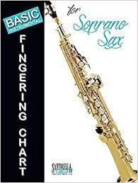 Basic Fingering Chart For Soprano Sax Tony Santorella