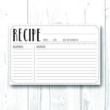 printable blank recipe cards blank recipe cards cafeplume com