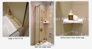 bathroom niches: the shower niche a place to stash the soap and shampoo mary sherwood lifestyles