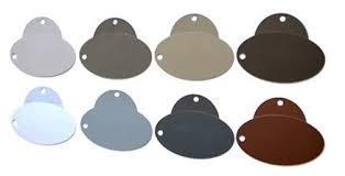 Senox Color Chart Products Senox Corporation Serving The Seamless Gutter