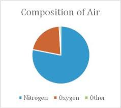 On What Kind Of Graph Would The Composition Of Air Be Best