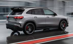 As if freshly liberated, it chases round the bends, sends the dust swirling and is always poised for that long journey. For 2021 Mercedes Amg Gla45 Gets Added Superpowers