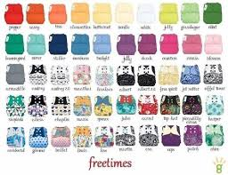 Bumgenius All In One Size Chart Bumgenius Freetime Prints Aio One Size Cloth Diapers The