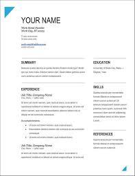 Free Resume Templates 2017 Custom 60 Resume Examples Trenutnoinfo Free 60 Resume Templates 60