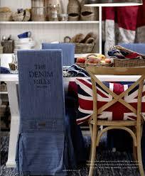 love this denim chair cover