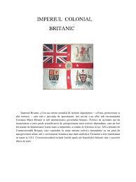 Referat imperiul colonial britanic - referatele