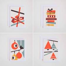 Bauhaus Inspired Christmas Cards Bauhaus Christmas Cards