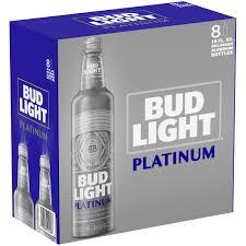 Bud Light Aluminum Bottles 20 Pack Price Bud Light Platinum Beer 8 Pack 16 Fl Oz Aluminum Bottles