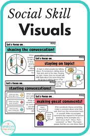 half sheet social skills visuals perfect for social groups or half sheet social skills visuals perfect for social groups or mixed groups a must