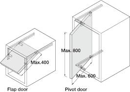 doors flap and pivot door fittings