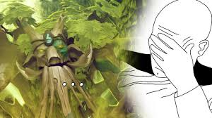 dota 2 how not to play treant protector youtube