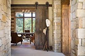 office space savers. View In Gallery Rustic Home Office Is A Great Place To Try Out The Classic Barn Door From Space Savers