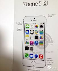 Apple iPhone 5S specifications