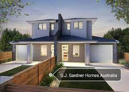 double y duplex house with