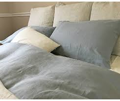 Amazon.com: Duck Egg Blue Linen Duvet Cover Handmade, Natural ... & Duck Egg Blue Linen Duvet Cover Handmade, Natural Linen Duvet Cover,  Natural Linen Bedding Adamdwight.com