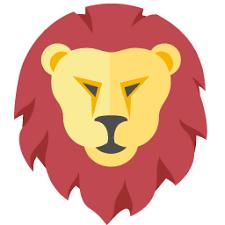 Icône Lion, zodiaque Gratuit de Flat Zodiac Icons