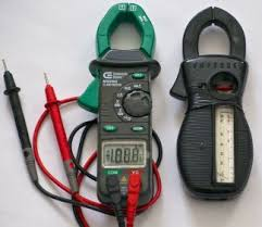 basic motor testing multimeters and ammeters clamp on ammeter