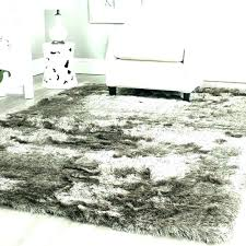 large plush area rugs gray extra soft fluffy white rug