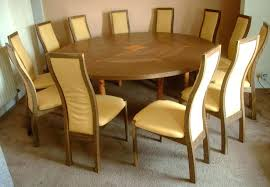12 seat dining table extendable round dining table fumed oak and yew extending round table and