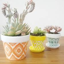 diy hand painted pots get the tutorial 4 terracotta pot ideas tutorials