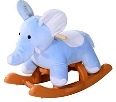 plush rocking chair. Fine Plush Qaba Kids Plush Rocking HorseStyle Elephant Theme Rocker Chair  20 Inch For I